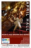 April Hall,Jazz Singer,New England Jazz,WICN 90.5FM,Live Broadcast Radio Show,Brown Bag Jazz Series,Boston Jazz Vocalist